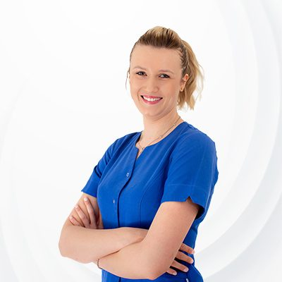 Asystentka Adrianna Rogowska